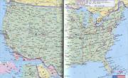 美国旅游地图_美国地图库