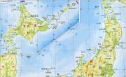 日本地形图_日本地图库