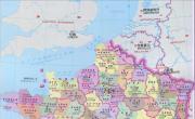 法国地图高清中文版_法国地图库