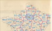 法国行政简图_法国地图库