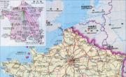 法国交通地图_法国地图库