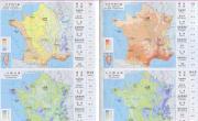 法国气候分布图_法国地图库