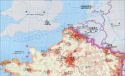 法国人口密度分布图_法国地图库