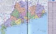 广东省行政区划地图_广东地图库