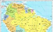 南美洲地图_南美洲地图库