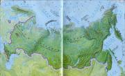 俄罗斯地势地形图_俄罗斯地图库