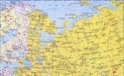 俄罗斯西部地图_俄罗斯地图库