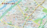 东莞市厚街镇中心地图_东莞地图库