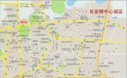 东莞市长安镇中心地图_东莞地图库