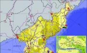 朝鲜半岛旅游图_朝鲜地图库