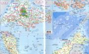 新加坡地图中(英)文版_新加坡地图库