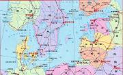 波罗的海地图_欧洲地图库