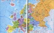 欧洲政区地图最新版_欧洲地图库