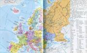 欧洲政区地图(高清版)_欧洲地图库