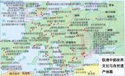 欧洲中部世界文化与自然遗产地图_欧洲地图库