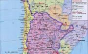阿根廷高清全图_阿根廷地图库
