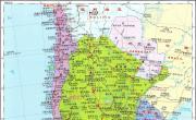 智利地图_智利地图库