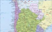 智利高清中文全图_智利地图库
