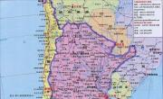 智利地图(旅游图)_智利地图库
