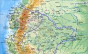 秘鲁地形图_秘鲁地图库