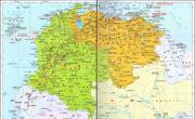 哥伦比亚高清中文全图_哥伦比亚地图库